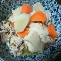長芋と高野豆腐の煮物