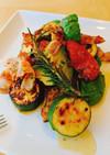 フライパンで簡単夏野菜のグリル