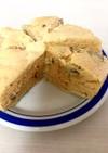 HMで簡単★きな粉とさつまいもの蒸しパン