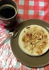 りんごプロテイン蒸しパン(+サイリウム)