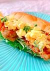 朝食に!唐揚げで作るチキン南蛮風サンド