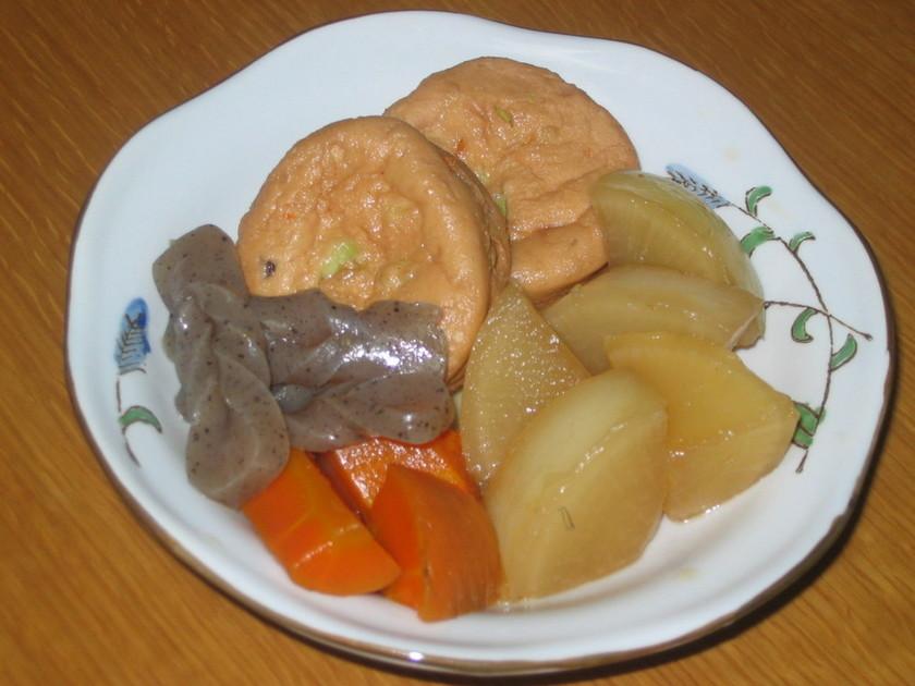 離乳食取り分けレシピ①野菜とがんもの煮物