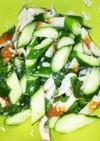 胡瓜とチクワの塩麹漬け