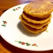 簡単ずぼら!にんじんパンケーキの写真