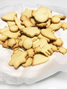 HMで簡単型抜きクッキー☆