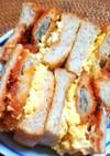 白身魚フライサンド