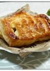 クリームチーズ in ミートパイ