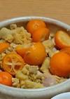 金柑とさつま芋のポテトサラダ