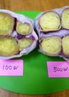 【レンジ】蒸かし芋(薩摩芋)