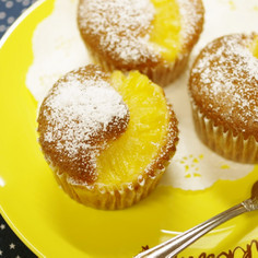 パイナップル缶とHM☆超簡単パインケーキ