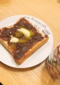 お家小倉トースト