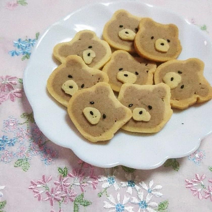 米粉のアイスボックスクッキー(くまきち)