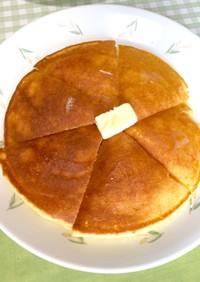 レンジパンでホットケーキ〜(o˘◡˘o)