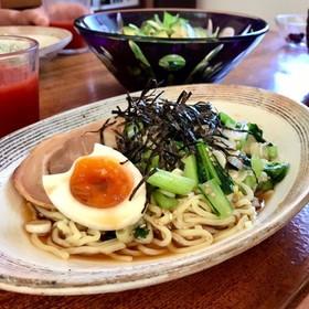 冷やし拉麺/マルちゃん正麺 醬油味を推奨