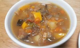 【トマト缶で】野菜スープ