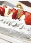 スクエアのショートケーキ