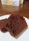 HMでチョコチップパウンドケーキ