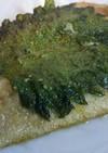 イワシと大葉のオリーブオイル焼き!