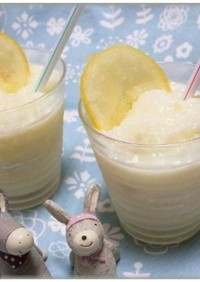 サクレレモンを使ったレモンスムージー