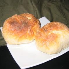 トースターで焼ける、かんたん丸パン