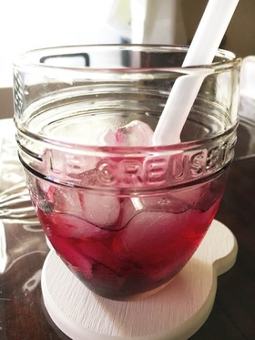 カンタン美味しい赤紫蘇ジュース