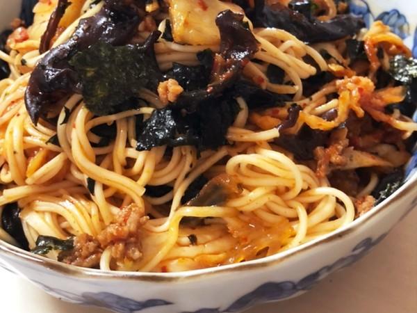 韓国素麺!簡単!辛うま〜!
