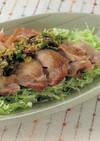 蒸し鶏の薬味ソース