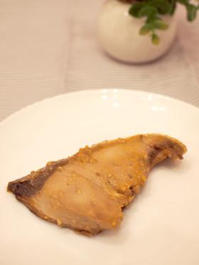 ご飯がすすむ!ぶりのマカ味噌焼き