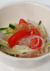 中華くらげと春雨のサラダ