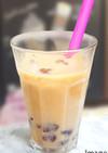 低糖質タピオカ(風)ミルクティー