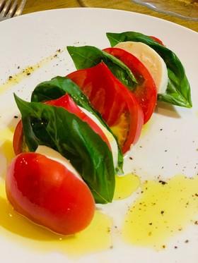 しあわせのファーストトマトのカプレーゼ