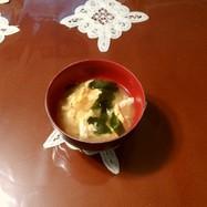 ワカメと卵の味噌汁♥♥