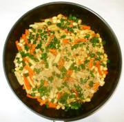 ご飯がすすむおかず♪高野豆腐と豆の写真