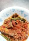 夏野菜のトマト麻婆茄子