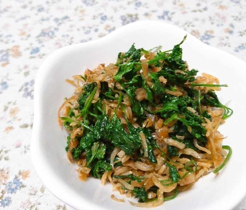 【鉄分+カルシウム♪】パセリの佃煮