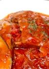 ナスとスペアリブのトマト煮