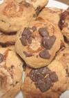 チョコとマシュマロのスコーン