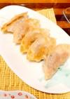 さっぱり旨い^o^えびと大葉の餃子