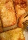 木綿豆腐だけのカリッとホットケーキ風