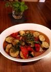 めんつゆで簡単⭐茄子とパプリカの揚げ浸し