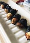 青さ香る大和芋の海苔巻き揚げ