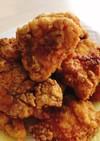 鶏むね肉のカレーガーリック唐揚げ
