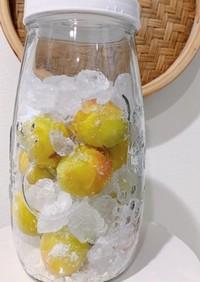 梅シロップの作り方(梅ジュース)