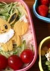 【キャラ弁】薄焼き卵でイーブイ☆ポケモン