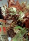 貧乏人の友・魚肉ソーセージで回鍋肉