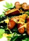 ほうれん草とソーセージのマヨネーズ焼き