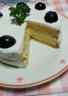 レアチーズショートケーキ
