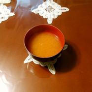 すり人参味噌汁