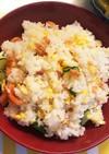 鮭と卵のちらし寿司