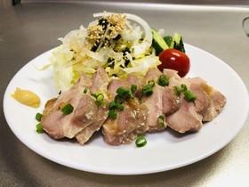 炊飯器に放置☆塩麹漬け豚の低温調理